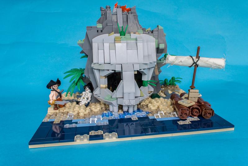 Afficher le sujet c moc 6248 volcano island redux - Ile pirate lego ...