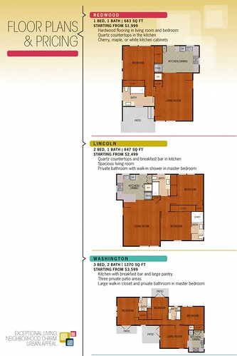 Pricing: Lincoln Place Apartment Homes