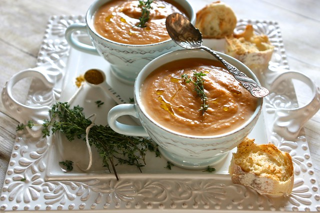 Carrot Coconut Soup 003