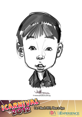 digital live caricature for iCarnival 2012  (IDA) - Day 2 - 33