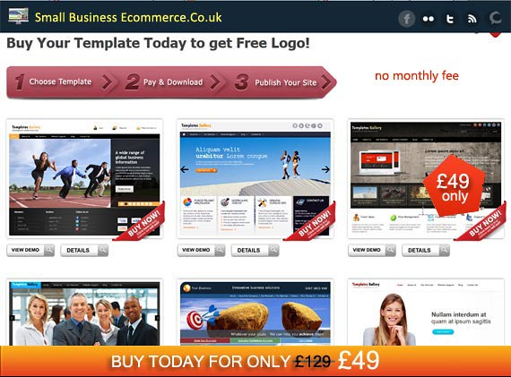 Sme templates home website templates site sme small business cheaphphosting Images