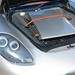 Porsche Carrera GT in GT Silver Metallic in Beverly Hills California front trunk