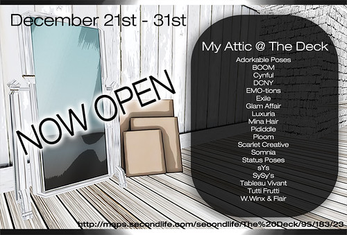 My Attic - December - Countdown @ The Deck
