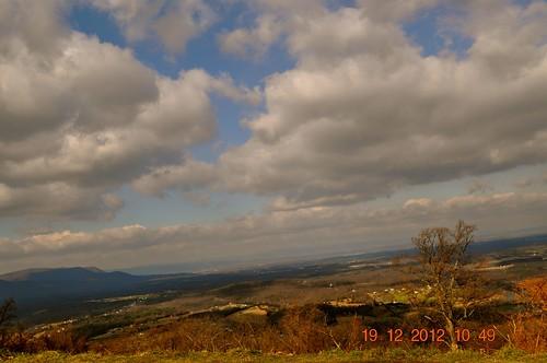 mountains skyline drive nationalpark