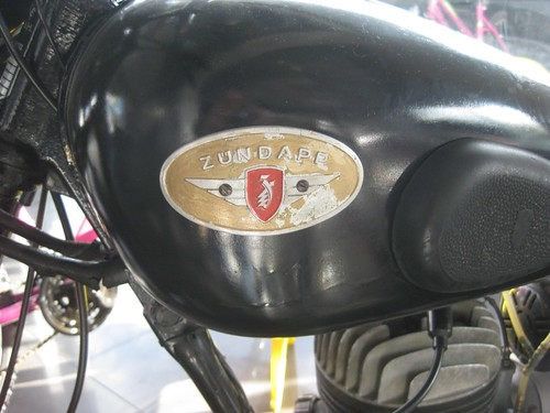 Zundapp Motorcycle Badge