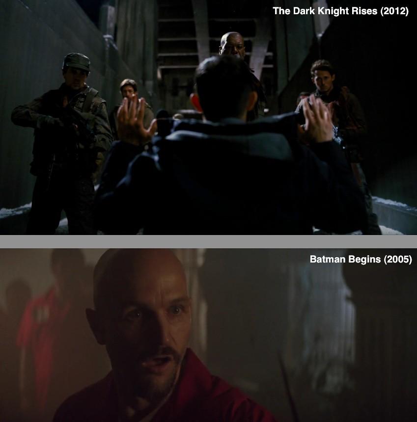 The Dark Knight Trilogy - Similitudes ¿Lo sabias?