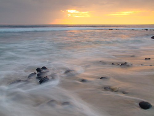 ocean sunset vacation seascape art beach beautiful relax landscape photography hawaii photo exposure artist waves photographer image olympus shutter tropical coastline f22 fromhereonin christopherjohnson