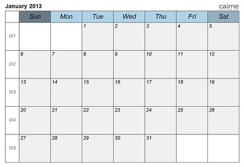 calendar-calme