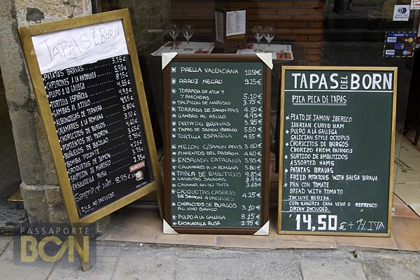 preços em Barcelona