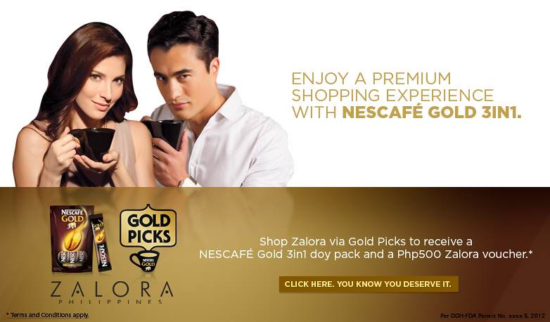 NESCAFE Gold Picks Zalora email blast
