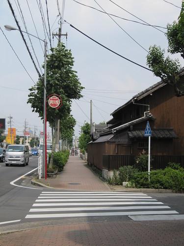 あおなみ線から名古屋競馬場へのアクセスの様子