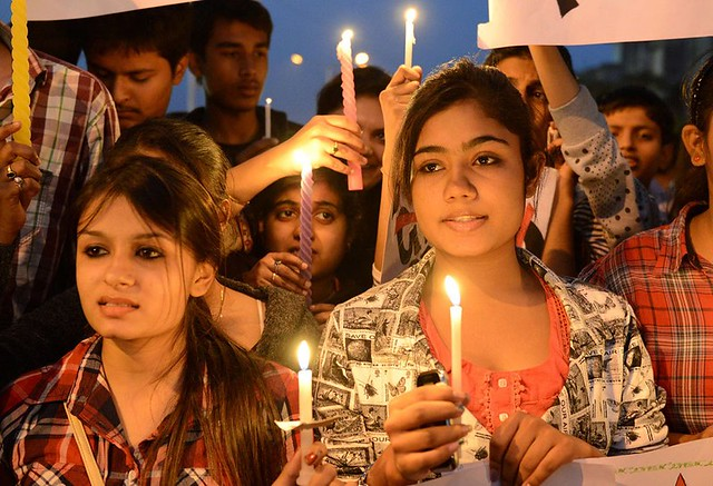 Delhi Gang-rape protest pictures (26)