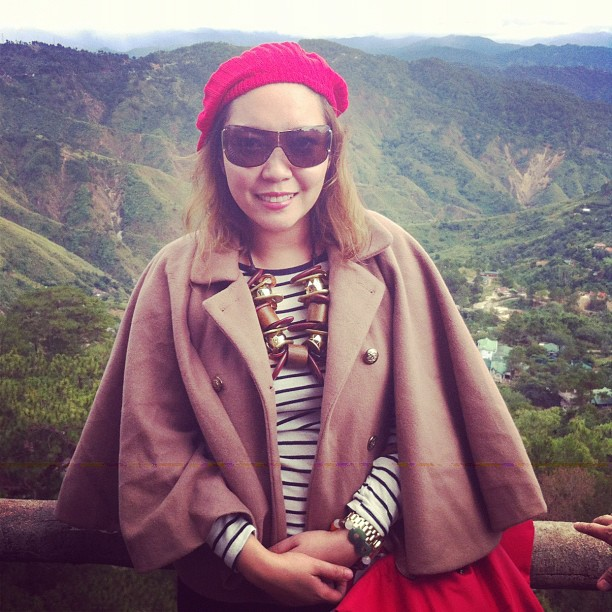 Enjoying the view :) #Baguio #christmasinbaguio #travel #instatravel #fashion #fashionista #views #philippines