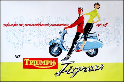 Triumph Tigress by bullittmcqueen