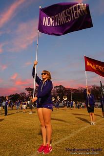 """...The Purple Banner Waving High..."""