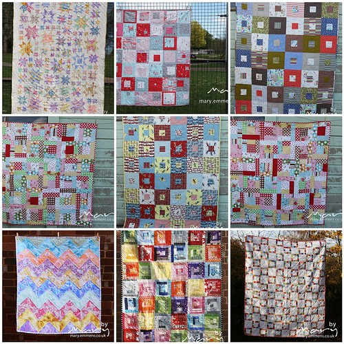Quilts: all started and finished in 2012