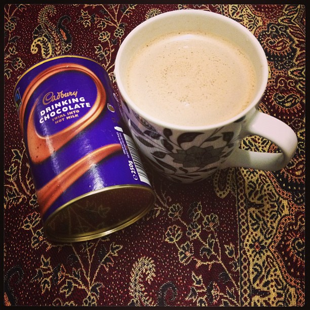 I finally got around to making a big #mug of #hotchocolate @givegifts
