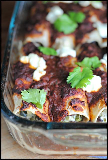 zucchinigoatcheeseenchiladas3