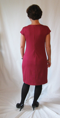 Lekala dress back