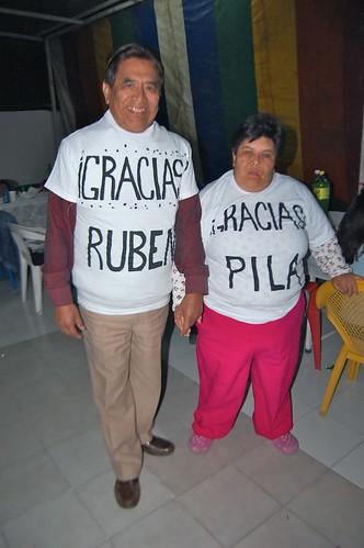 Pila y Rúben