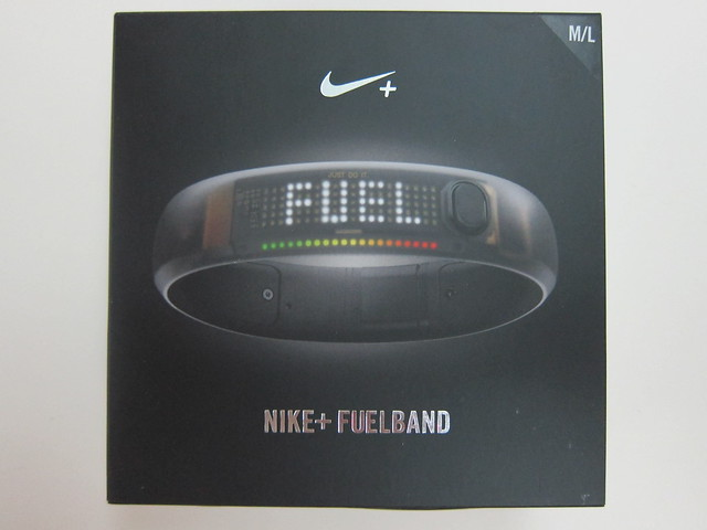 Nike+ FuelBand (Black Ice) - Box Front