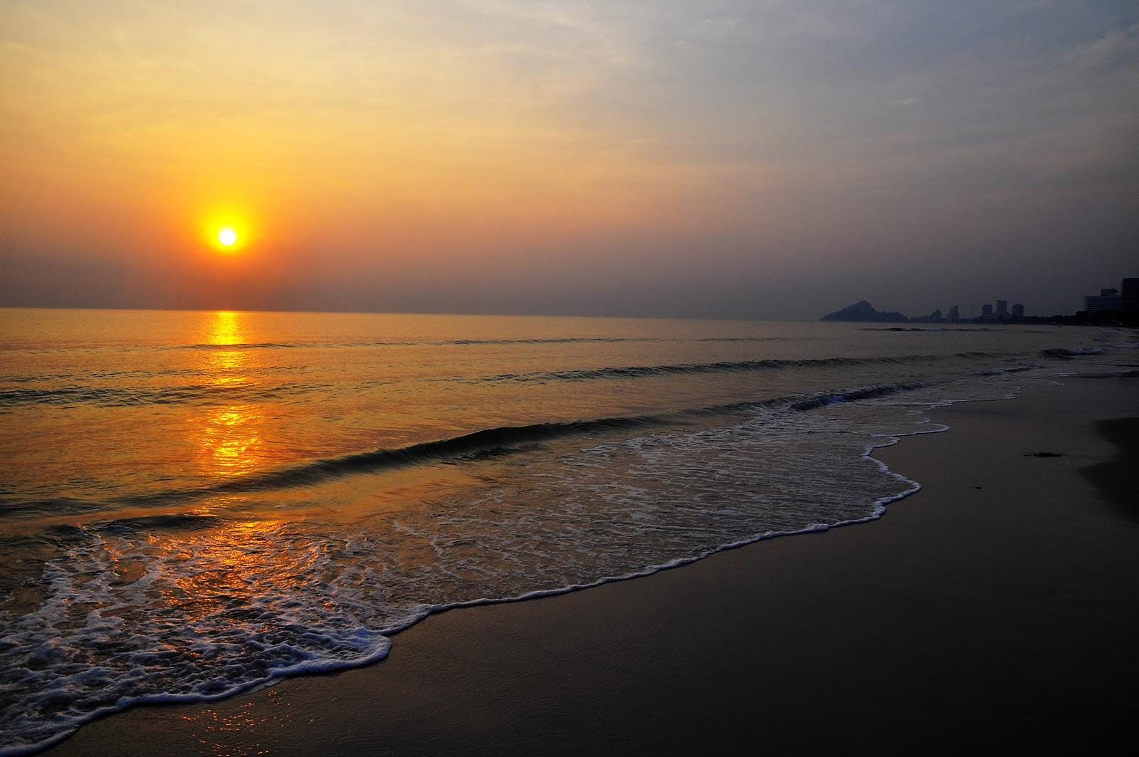 Sunrise, Hua Hin Beach