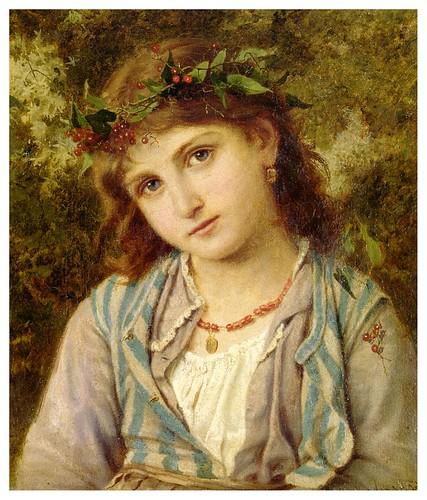 010-Una princesa en otoño-Sophie Gengembre Anderson -via httpallart.biz