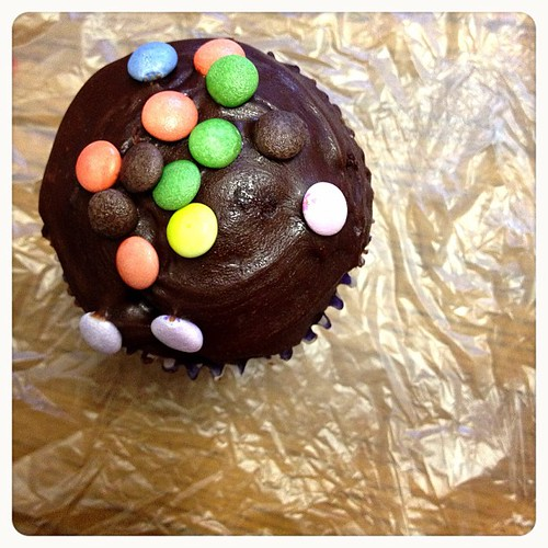 #bun #cupcake #smarties #chocolate #delicious