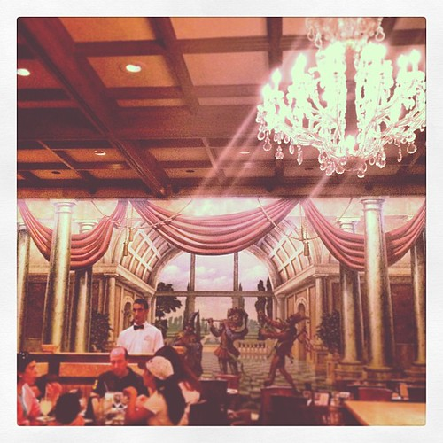 Tutto Italia, beautiful restaurant. And the waiters aren't bad either. #epcot