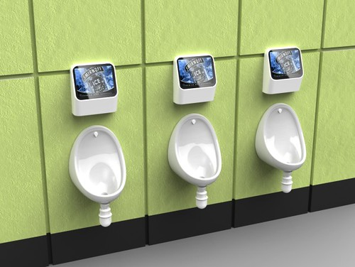 Video Games To Be Installed In All Urinals Across London