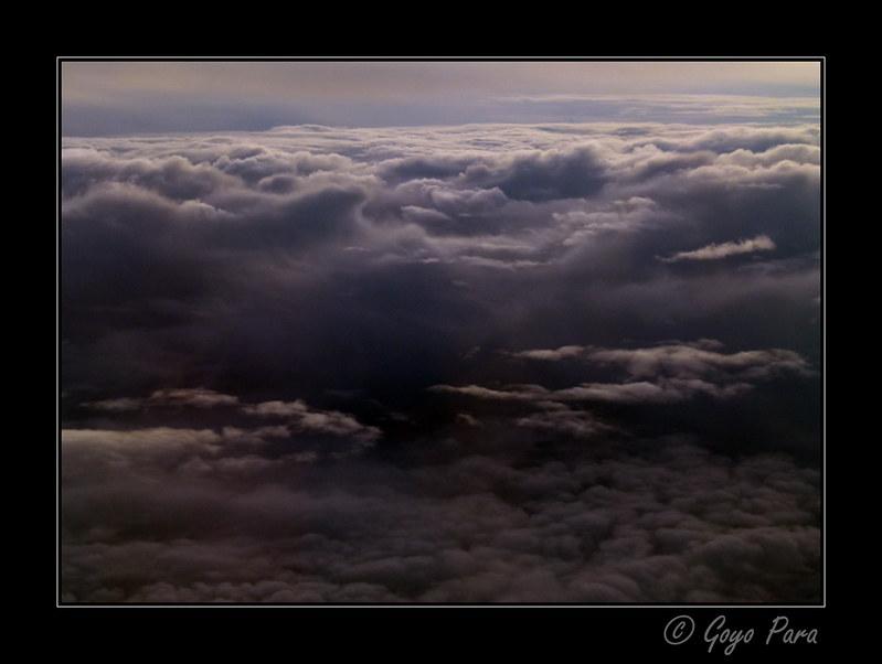 Nubes bajas medias y altas
