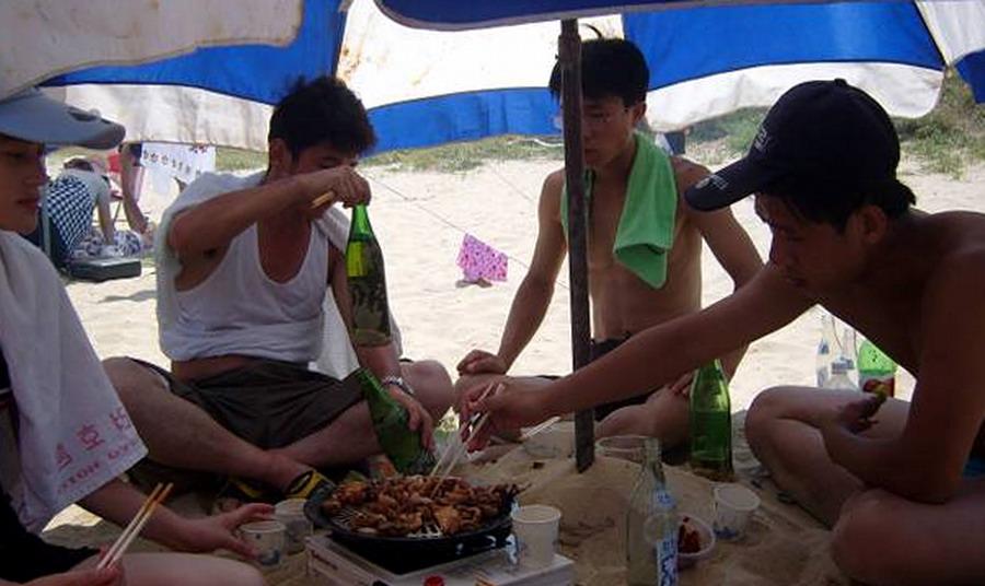 BBQing in North Korrea