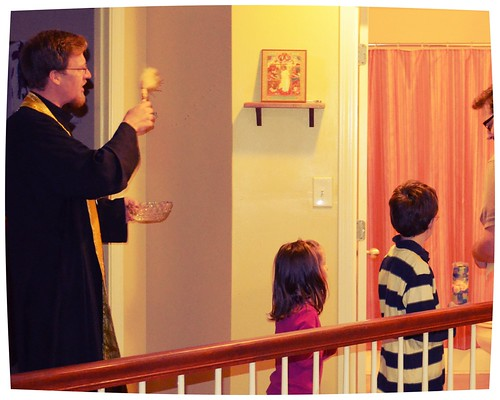Orthodox Houseblessing Upstairs