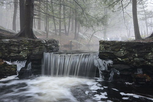 winter mist snow nature ma waterfall massachusetts january sanctuary broadmoor millpond audubon natick indianbrook bestcapturesaoi thomasswain thomasswain'smill