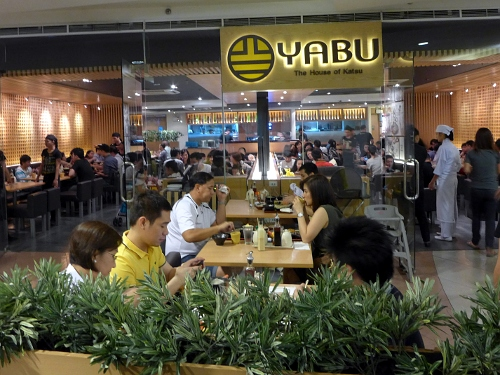 Yabu The House of Katsu at the Atrium, SM Megamall