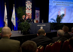 MCPOCG Leavitt speaks at 2013 SNA Symposium