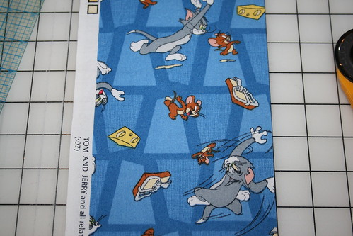 Tom and Jerry fabric