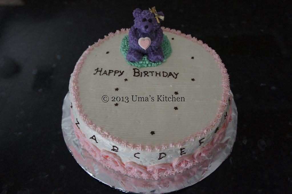 Versatile Vanilla Cake   Uma's Kitchen