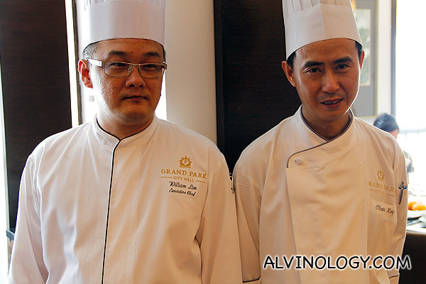The chefs behind all the wonderful dishes we sampled