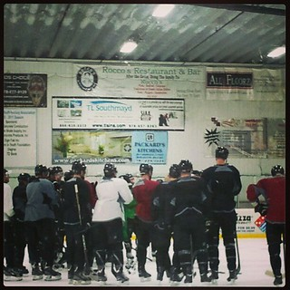 @bruinshockey practice! #bruins #bruinsareback #hockey #happy