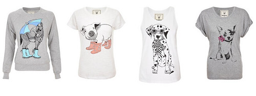 daisybutter - UK Style and Fashion Blog: brat and suzie, SS13, carousel dreams, asos, illustrated tops