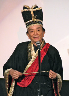 James Hong as a Super Secret Special Guest