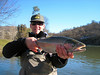 Bright day and Klamath River winter chrome