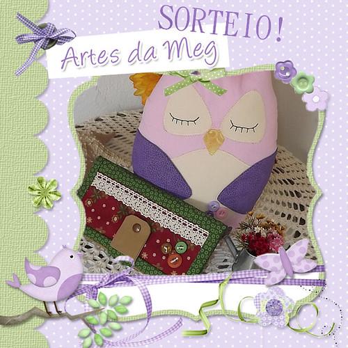 SORTEIO....SORTEIO ♥ by * Artes da Meg *