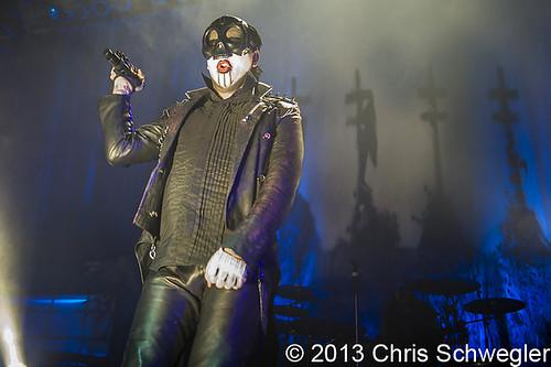 Marilyn Manson - 01-22-13 - The Fillmore, Detroit, MI