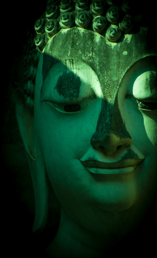 Wat Si Chum Buddha Head
