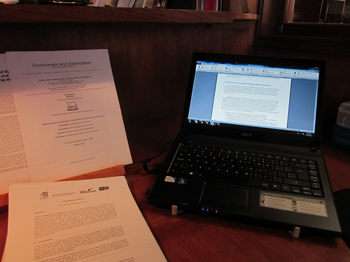 Academic writing (working from home)