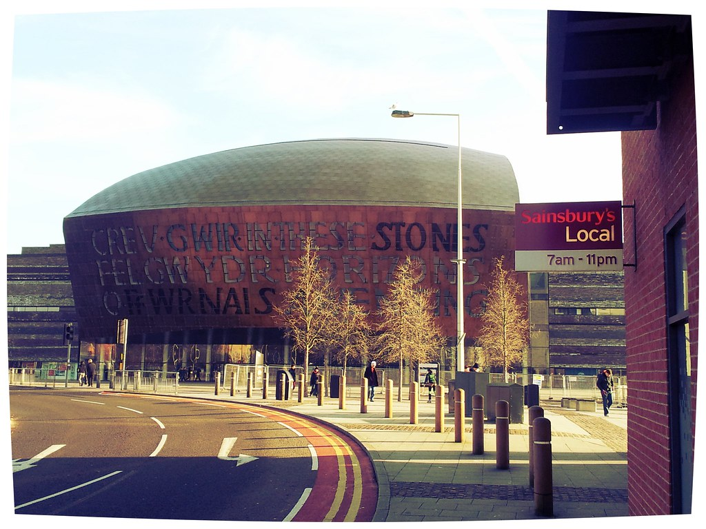 The Millennium Centre, Cardiff ,Wales