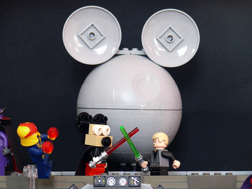 Luke vs. Darth Mickey