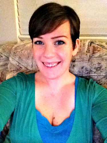 pixie cut Jan 2013